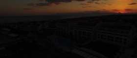 Sonnenuntergang hinter dem...